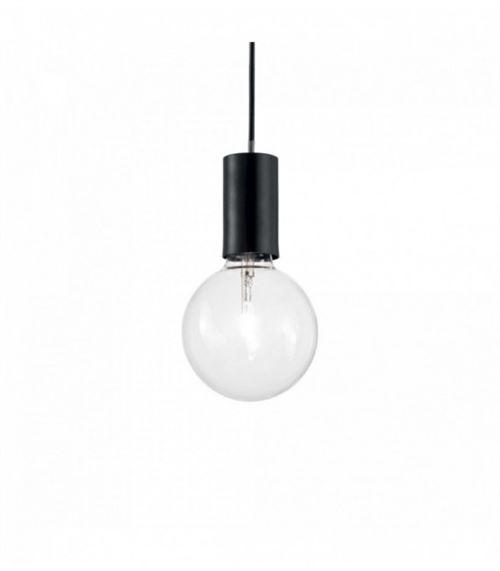 Suspension Noire HUGO 1 ampoule