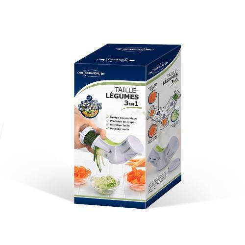 Taille-légumes TRIO - Vert