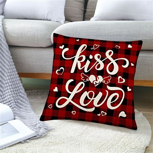 Taie 353 d'oreiller intérieure douce et créative romantique 45*45 CM - Multicolore