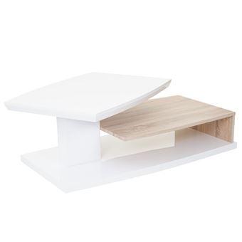 Mca Table 40x115x60cm Hl ChênePoli FinRotatif De Basse Design CorinneAspect Salon Owk8nXP0