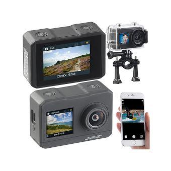 Caméra sport 4K DV-3817 étanche avec 2 écrans, wifi et capteur Sony
