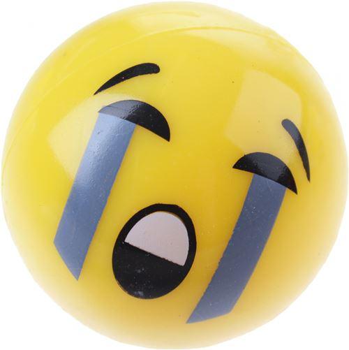 Jonotoys balle rebondissante pleurant avec effet d'éclairage 5,3 cm