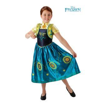 La Reine Des Neiges Deguisement Anna 5 6 Ans Robe Gilet Deguisement Enfant Achat Prix Fnac