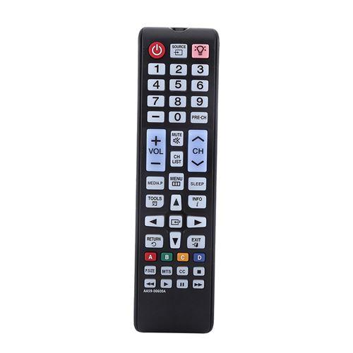 Télécommande de Smart TV AA59-00600A pour Samsung LCD LED - noir