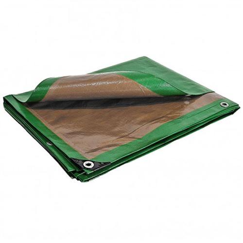 Bâche 5 x 8 m travaux lourds haute qualité 250g/m2 Traitée Anti UV