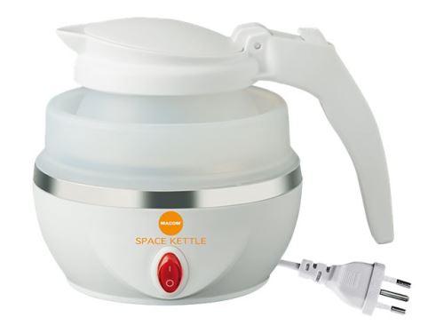 Macom Just Kitchen 862 Space - Bouilloire - 800 ml - 1100 Watt - blanc