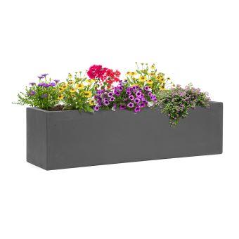 30€ sur Blumfeldt Solidflor - Bac à fleurs jardinière 75 x 20 x 20 ...
