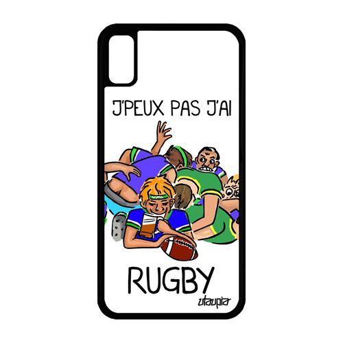 coque iphone xr rugby france