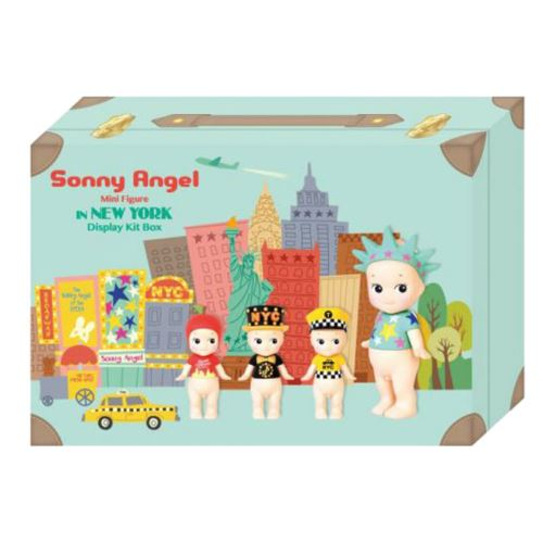 Boite de 4 Figurines Sonny Angel New York