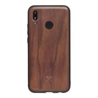 Coque pour Huawei P20 Lite en bois véritable Woodcessories EcoBump