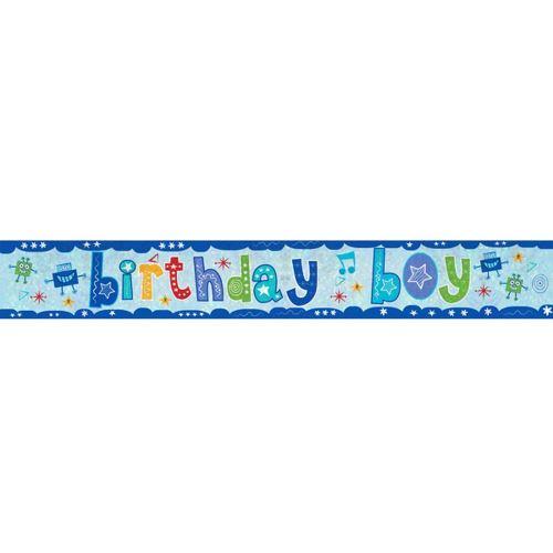 Amscan - Bannière anniversaire (Taille unique) (Bleu) - UTSG12400