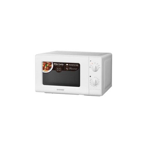 Daewoo KOR-6LM07 - Four micro-ondes monofonction - pose libre - 20 litres - 700 Watt - blanc