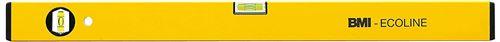 BMI 689060P-GELBCON Ecoline Alu-niveau à bulle, Jaune, 60 cm