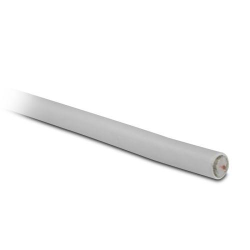 Câble coaxial TV / SAT METRONIC 438254 17 VAtC 5m Blanc