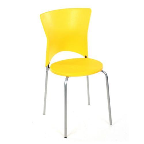 Chaise cuisine City jaune