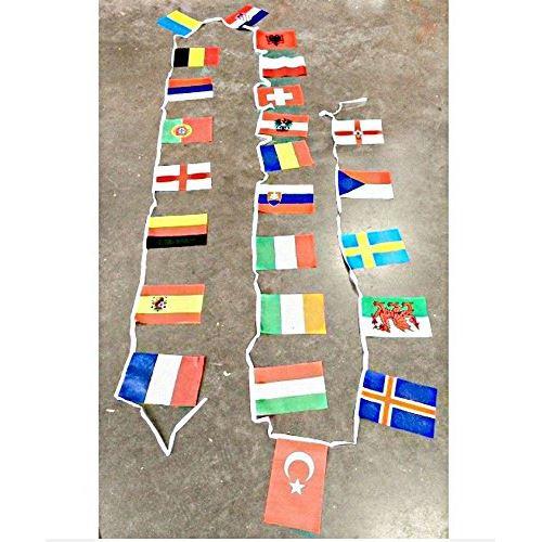 Banderole drapeau 6 m supporter foot ambiance