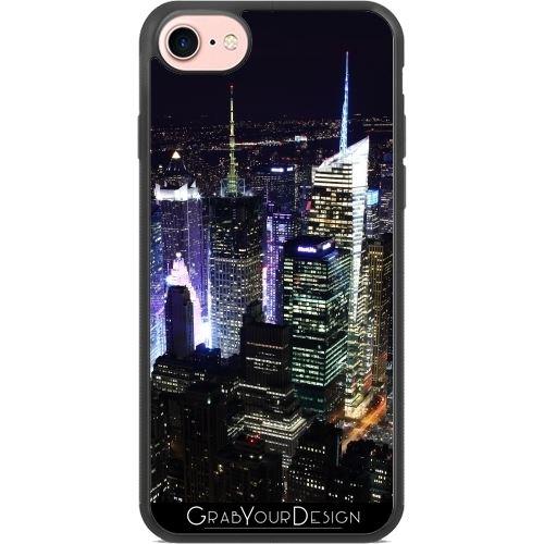 coque iphone 8 new york noir et blanc