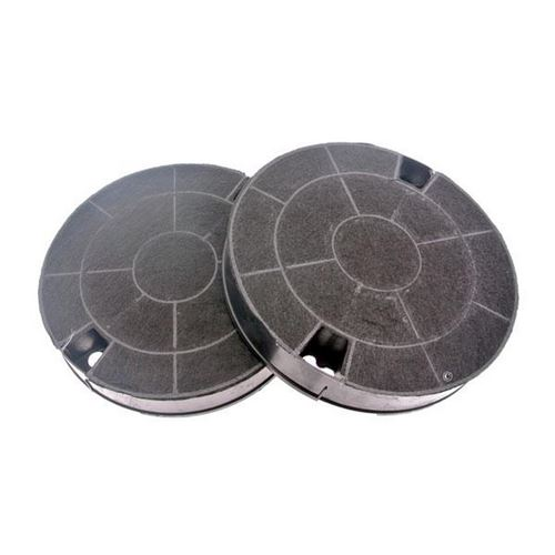 Lot de 2 filtres charbon type 29 CHF029 Hotte 481249038013, AMC912 WHIRLPOOL, IKEA WHIRLPOOL, BAUKNECHT, ARISTON HOTPOINT, INDESIT, BOSCH, BRANDT, FAGOR, IGNIS, SCHOLTES, SIEMENS, SAUTER, ROSIERES - 91929