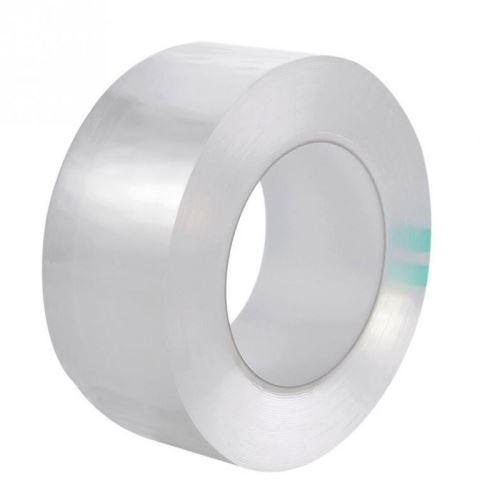 SHOP-STORY - Ruban Adhésif étanche transparent pour joints de cuisine et salle de bain - Longueur 3m - Largeur 5cm