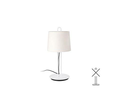 Structure de table Montreal - Blanc - Sans ampoule