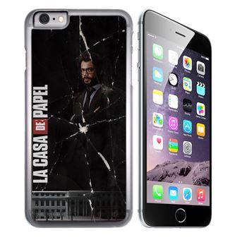 Coque pour iPhone 6 et iPhone 6S casa de papel profeeur