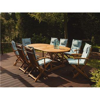 chaise clair jardin pour Coussin de bleu JAVAMAUI by6fYg7v
