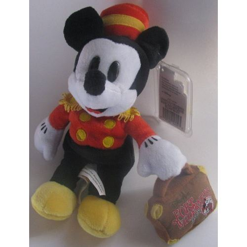 Pouf Disney Peluche Mickey Mouse Bellhop Fort Wilderness 8
