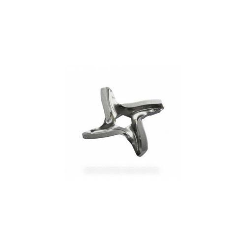 Couteau 4 lames trou hexagonal 8mm pour robot multifonctions moulinex - 9006218