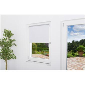 Store Enrouleur Occultant Fenêtre Thermo Blanc L80 X H150 Cm Achat