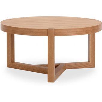Table Basse Ronde De Style Scandinave
