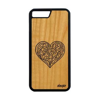 coque iphone 8 plus silicone coeur