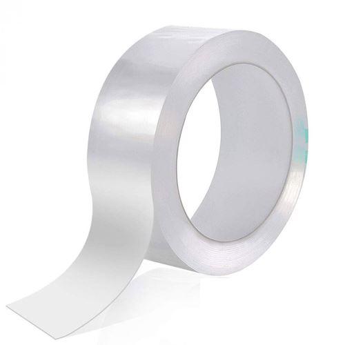 SHOP-STORY - Ruban Adhésif étanche transparent pour joints de cuisine et salle de bain - Longueur 3m - Largeur 2cm