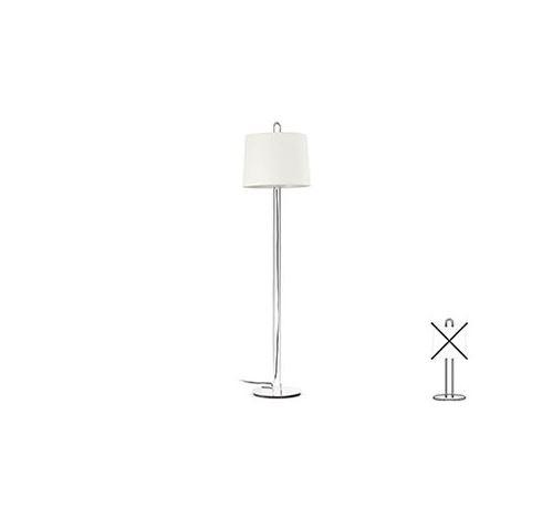 Structure lampadaire Montreal - Chrome - Sans ampoule