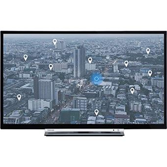 """Toshiba 32W3863DG - 32"""" Klasse LED-tv - Smart TV - 720p 1366 x 768 - D-LED Backlight"""