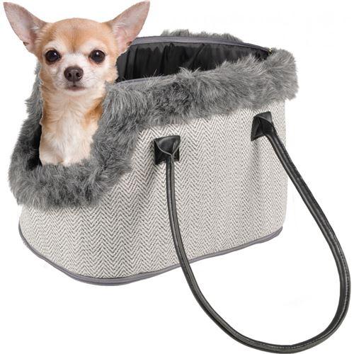 Sac de transport Esmée, 52 x 25 x 26 cm, pour petit chien. - Flamingo Pet Products - FL-518528