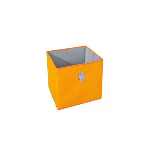 Cube de rangement - Orange