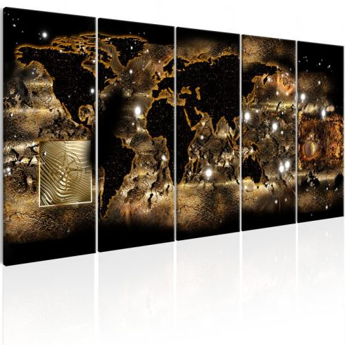 Tableau - World at Night .Taille : 225x90