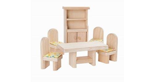 Plan Toys - Jouet en bois - Salle à manger, décor naturel
