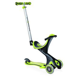 Trottinette évolutive Globber Evo Comfort 3 roues pour enfant Vert