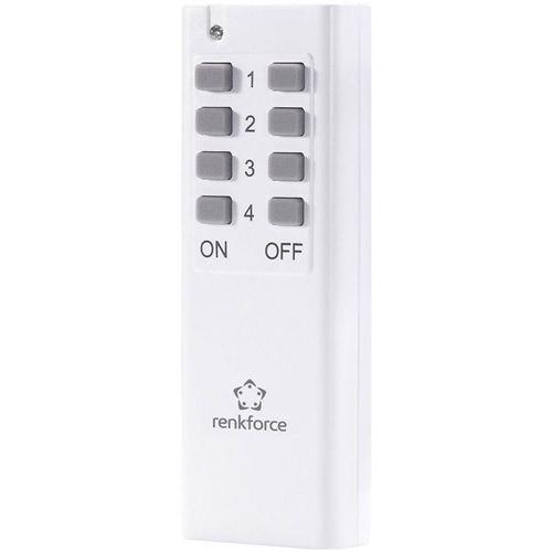 Télécommande supplémentaire 433 MHz Renkforce
