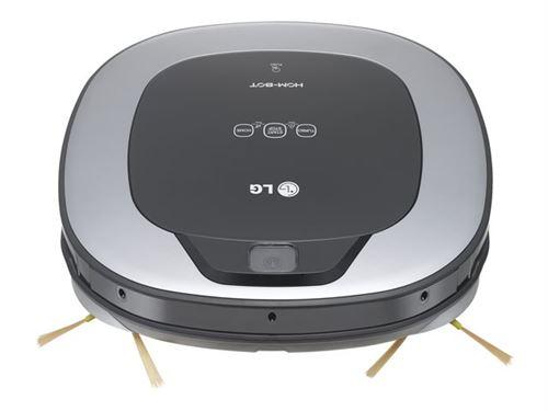 LG Hom-Bot Square VR6340LV - Aspirateur - robot - sans sac - titan argenté