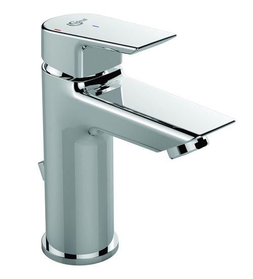 Ideal Standard - Mitigeur lavabo monotrou Tesi avec vidage chromé 5L/min