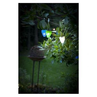 Galix lampion solaire - plastique blanc - Luminaires extérieur ...
