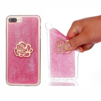 coque iphone x rose paille