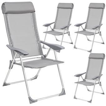 chaise jardin pliante
