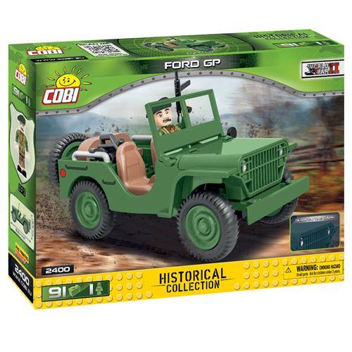 Cobi kit de construction Vietnam War Ford GP boys green 91-piece