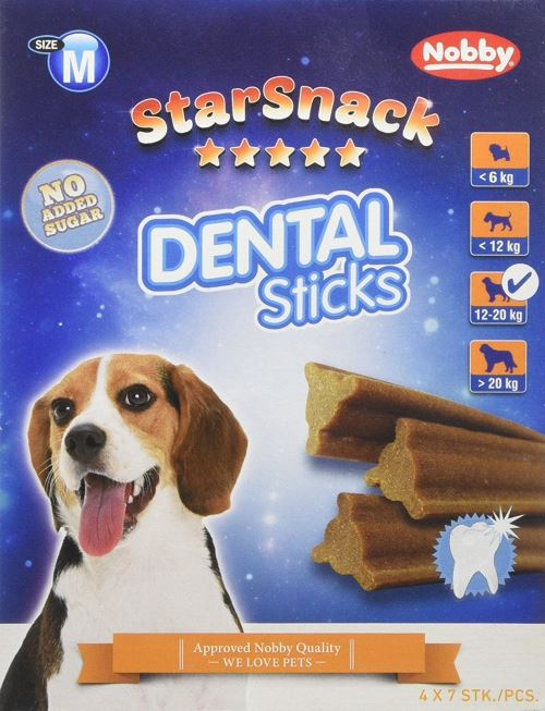 Nobby Friandise pour Chien Dental Sticks 560 g