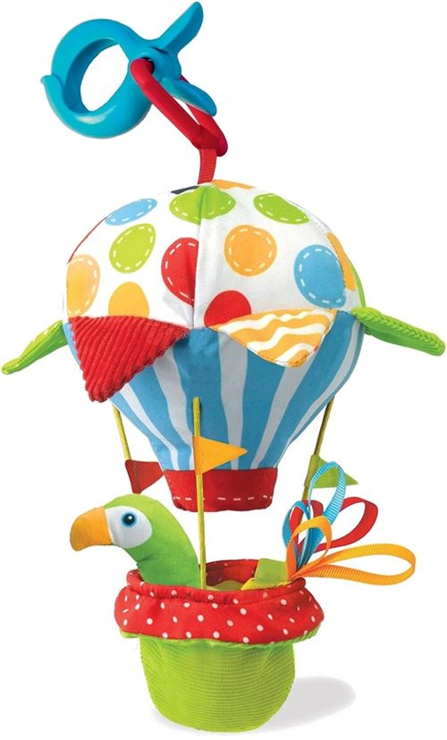 Yookidoo porte-bébé Tap'N' Play Ballon 24 cm