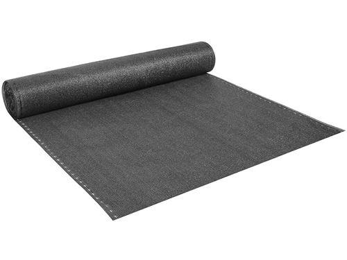 brise vue synthétique verdo - 1 x 10 - 90g/m² - gris