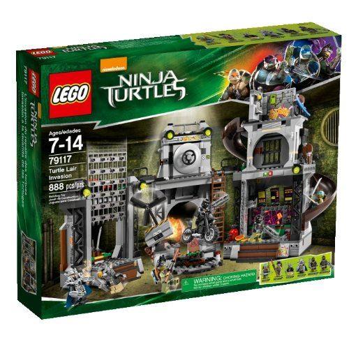 LEGO Teenage Mutant Ninja Turtles 79117 - Turtle Lair Invasion